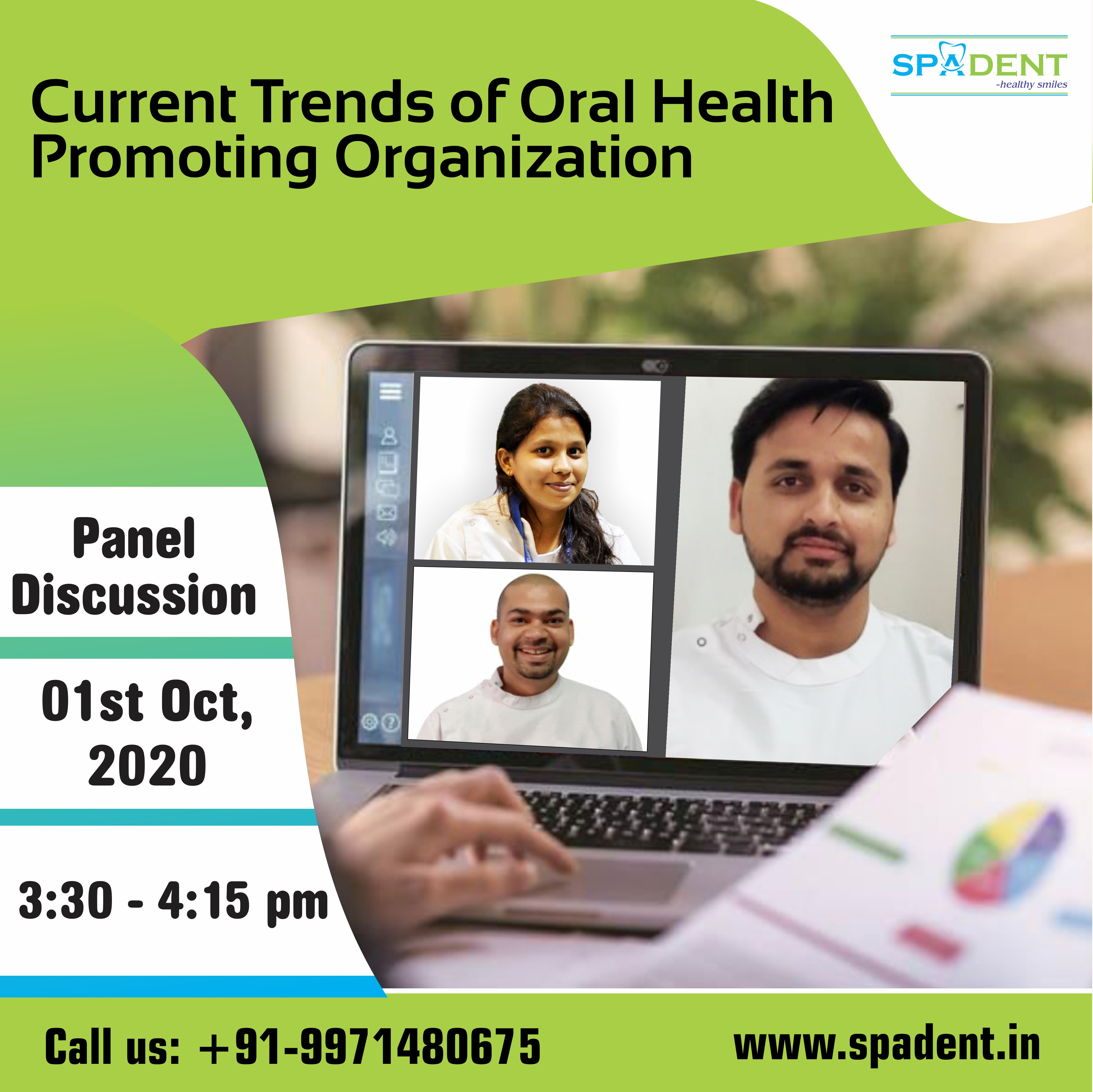 Current Trends of oral health promoting organizations